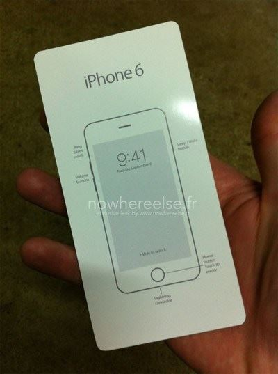 ภาพหน้าปกคู่มือ iPhone 6