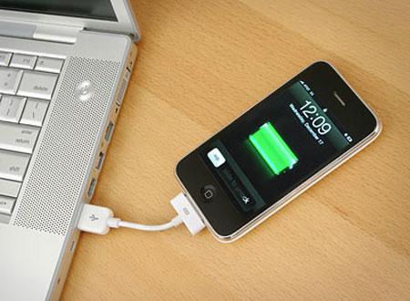 วิธีชาร์ตแบต iphone ให้เต็มเร็ว