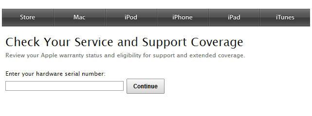 เช็ค ตรวจสอบ ประกัน iphone apple ipad macbook