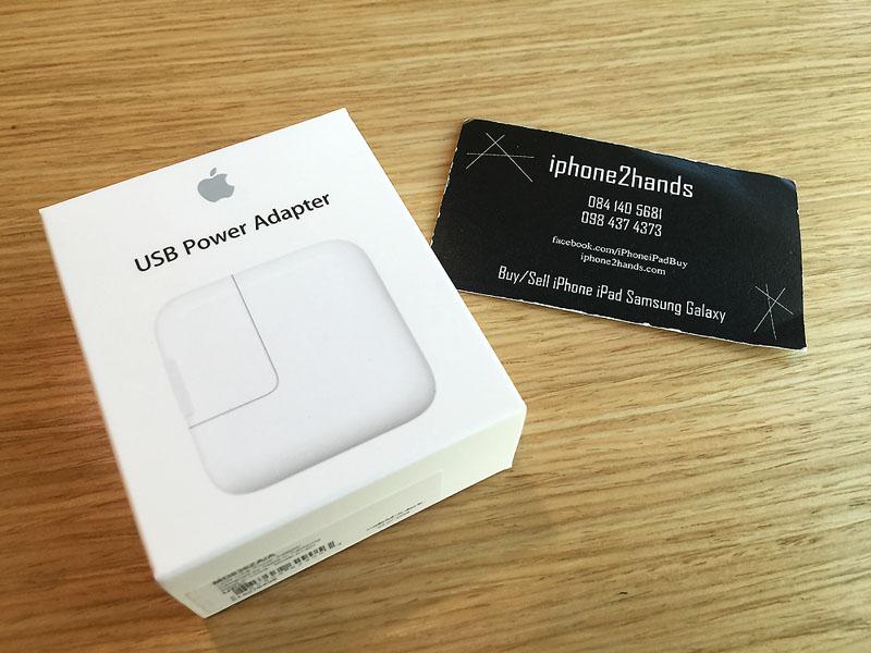Apple USB Power Adapter ขนาด 12 วัตต์