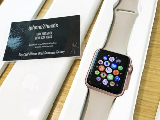 ขาย apple watch sport 42mm มือสอง