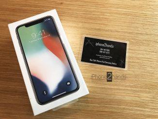 ขาย iphone x สีขาว มือ1