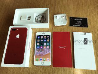 ขาย iphone 7 plus สีแดง