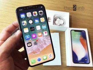 ขาย iphone x silver สีขาว มือสอง