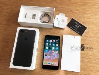 ขาย iphone 7 plus, iphone 7 plus มือสอง, iphone 7 plus สีดำด้าน