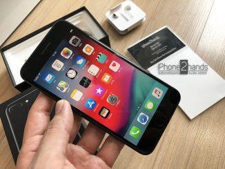ขาย iphone 7 plus, iphone 7 plus มือสอง, iphone 7 plus สีดำเงา