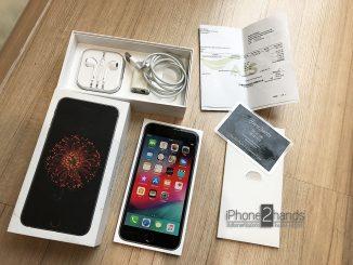 ขาย iphone 6 plus,สีดำ,64gb,มือสอง,ais,true,dtac