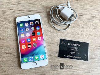 ขาย iphone 6 plus,สีขาว,64gb,มือสอง,ais,true,dtac