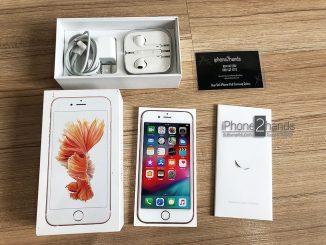 iPhone 6S สีชมพู 128gb ศูนย์ไทย อุปกรณ์ ครบกล่อง
