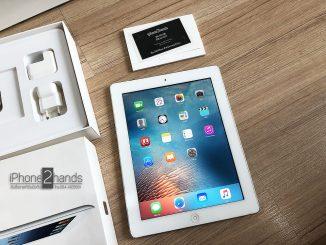 iPad 3 สีขาว 32gb Cellular Wifi ศุนย์ไทย มือสอง ครบกล่อง