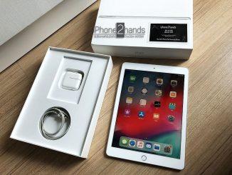 ขาย iPad 2018 สีขาว 32gb Wifi เครื่องศูนย์ ครบกล่อง ประกันเหลือ