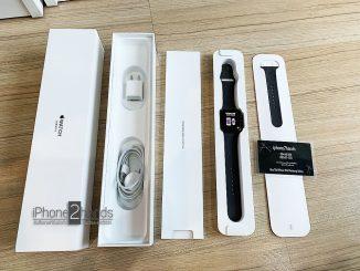 Apple Watch S3 สีดำ 42mm GPS Cellular ประกัน ตุลา 62