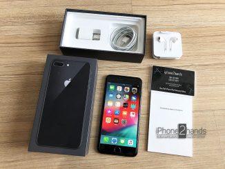 ขาย iPhone 8 Plus สีดำ 64gb ศูนย์ไทย ประกันยาวๆ กันยา 62