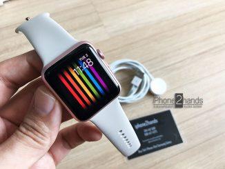 ขาย Apple Watch S1 สีชมพู 42MM ศูนย์ไทย มือสอง ราคาถูก