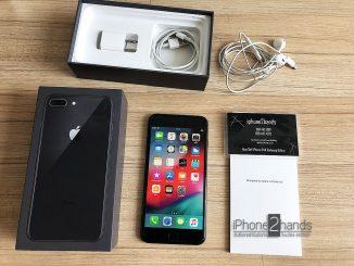 ขาย iPhone 8 Plus สีดำ 256gb ศูนย์ไทย มือสอง ราคาถูก ครบกล่อง