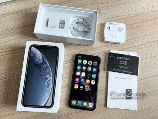 ขาย iPhone XR สีดำ 64gb ประกันศูนย์เหลือ 11 เดือน
