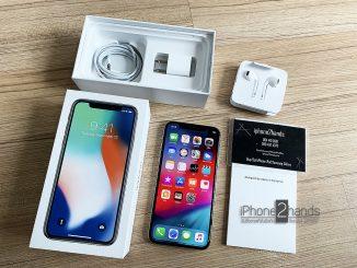 ขาย iPhone X สีขาว 64gb ประกันศูนย์ถึง ตุลาคม 62
