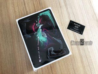 ขาย iPad Pro 11 สีดำ 64gb wifi มือ1 ยังไม่แกะ ประกัน 1 ปีเต็ม