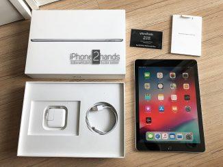 ขาย iPad 2018 สีทอง 32gb Wifi มือสอง ประกันเหลือ ครบกล่อง