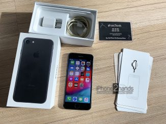 ขาย iPhone 7 สีดำ 32gb มือสอง ราคาถูก