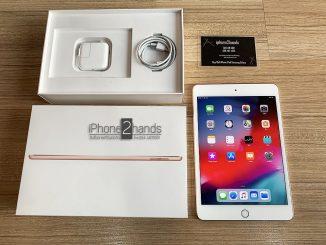 ขาย iPad Mini 5 สีทอง 64gb Wifi ประกันศูนย์ มีนา 63 ปีหน้า ราคาถูก