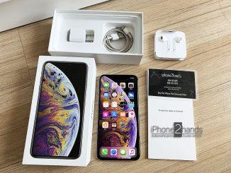ขาย iPhone XS MAX สีขาว 64gb ศูนย์ไทย ประกันเหลือราคาถูก