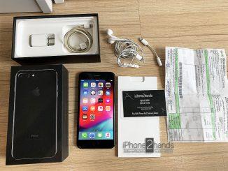 ขาย iPhone 7 Plus สีดำเงา 128gb ศูนย์ไทย มือสอง ราคาถูก