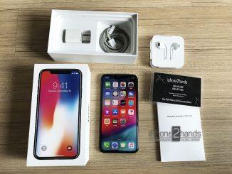 ขาย iPhone X สีดำ 64gb ศูนย์ไทย มือสอง ครบกล่องราคาถูก