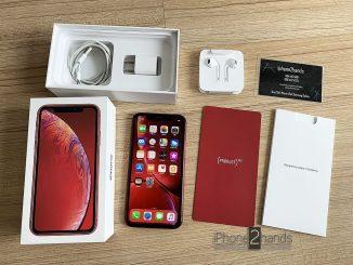 ขาย iPhone XR สีแดง 64gb ประกันศูนย์ 24 กุมภา 63 ปีหน้า