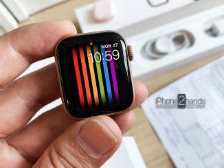 ขาย Apple Watch S4 40mm ศูนย์ไทย ประกันยาวๆ กุมภา 63