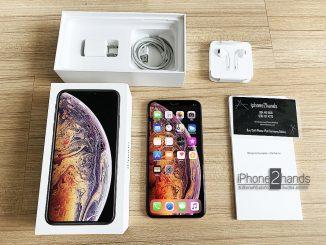 ขาย iPhone XS MAX 64gb สีทอง ศูนย์ไทย มือสอง ราคาถูก