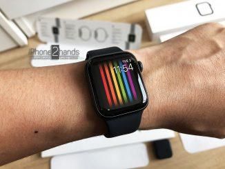 ขาย Apple Watch S4 สีดำ 40mm GPS ประกัน กุมภา 63
