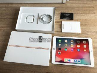ขาย iPad 2018 gen6 สีทอง 128gb Wifi ประกันเหลือ 10 เดือน ราคาถูก