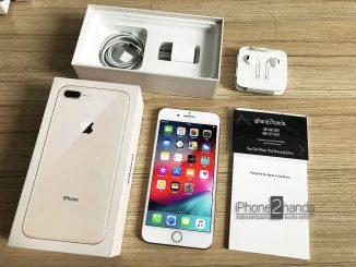 ขาย iPhone 8 Plus สีทอง 64gb ศูนย์ไทย อุปกรณ์ครบกล่อง