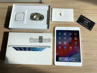 ขาย iPad Mini2 16gb สีขาว Cel Wifi มือสอง ครบกล่อง ราคาถูก