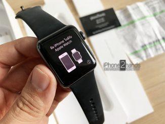 ขาย Apple Watch S3 สีดำ 38mm GPS Cel มือสองราคาถูก