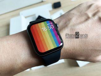 ขาย Apple Watch S4 44mm gps สีดำ มือสอง ครบกล่อง ประกันเหลือ