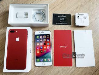ขาย iPhone 7 Plus สีแดง 128gb ศูนย์ไทย มือสอง ครบกล่อง