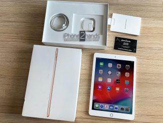 ขาย iPad 2018 สีทอง 32gb Wifi เครื่องศูนย์ไทย ประกันเหลือ ราคาถูก