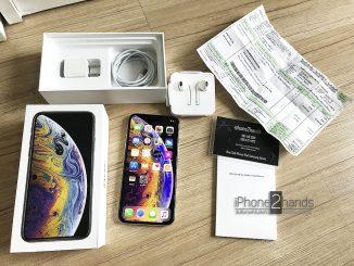 ขาย iPhone XS สีขาว 256gb ศูนย์ไทย ประกัน มกรา 63 พร้อมใบเสร็จ