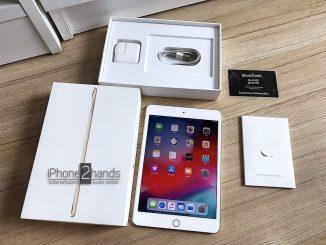 ขาย iPad Mini 4 สีทอง 64gb Wifi ครบกล่อง มือสองราคาถูก