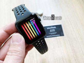 ขาย Apple Watch S2 Nike 42mm สีดำ มือสอง ราคาถูก