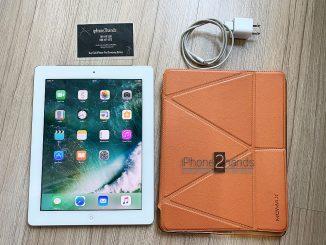 ขาย iPad 4 สีขาว 32gb Cellular Wifi ศูนย์ไทย มือสอง