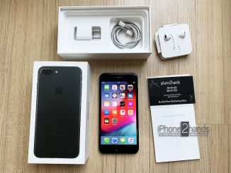 ขาย iPhone 7 Plus สีดำ 32gb เครื่องศูนย์ไทย อุปกรณ์ครบกล่อง