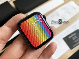 ขาย Apple Watch S4 Nike 44mm ประกันศูนย์ยาวๆ 27 พค 63 + ใบเสร็จ