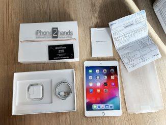 ขาย iPad Mini5 สีทอง 64gb Wifi ประกันศูนย์ถึง 23 เมษา 63 มือ1