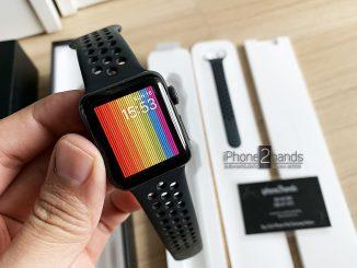 ขาย Apple Watch S2 Nike 38mm ครบกล่องมือสอง ราคาถูก