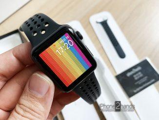 Apple Watch S3 สีดำ 42mm Nike GPS ประกันเหลือ ราคาถูก