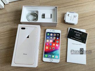 ขาย iPhone 8 Plus สีทอง 64gb เครื่องศูนย์ไทย สภาพมือ1 ครบกล่อง