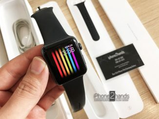 Apple Watch S3 สีดำ 42mm GPS ศูนย์ไทย ครบกล่อง ราคาถูก